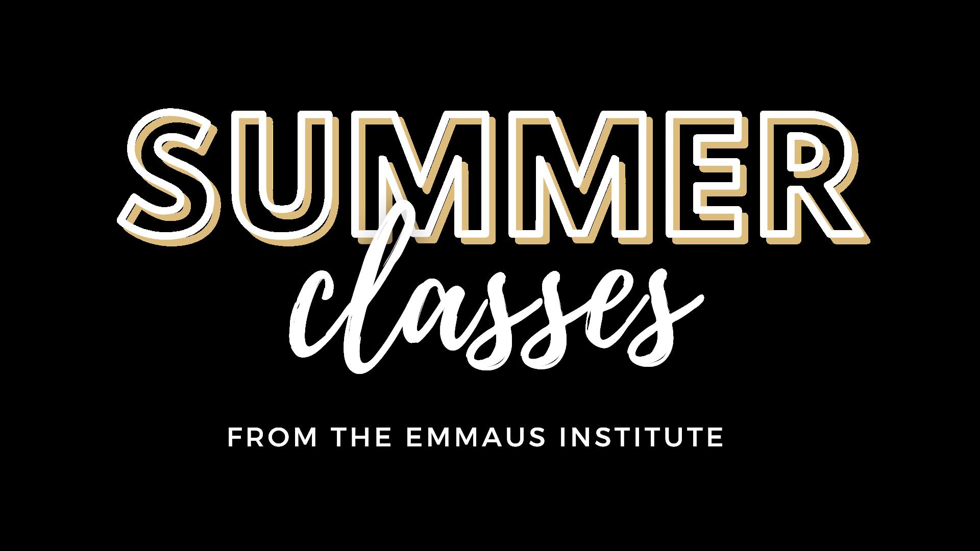 Summer Classes Title