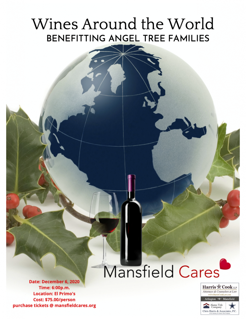 Fundraising poster for Mansfield Cares
