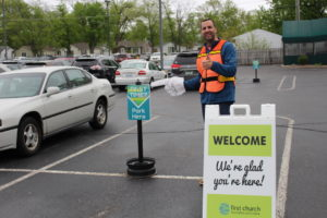 Parking Lot Volunteer at First Church