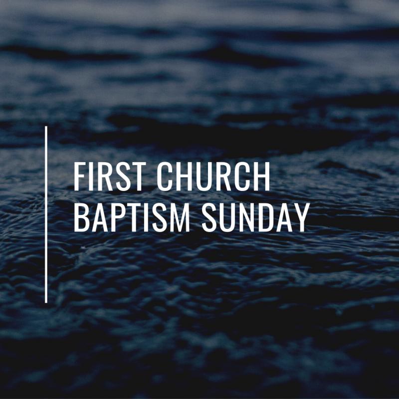 BAPTISM AT THE LAKE 2021