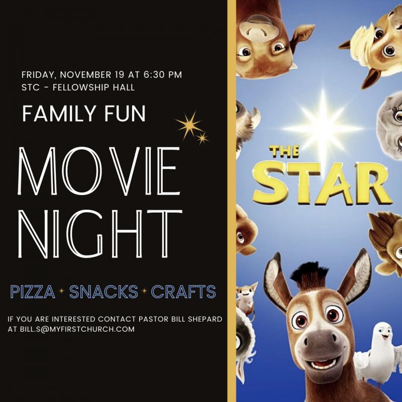 FAMILY FUN MOVIE NIGHT