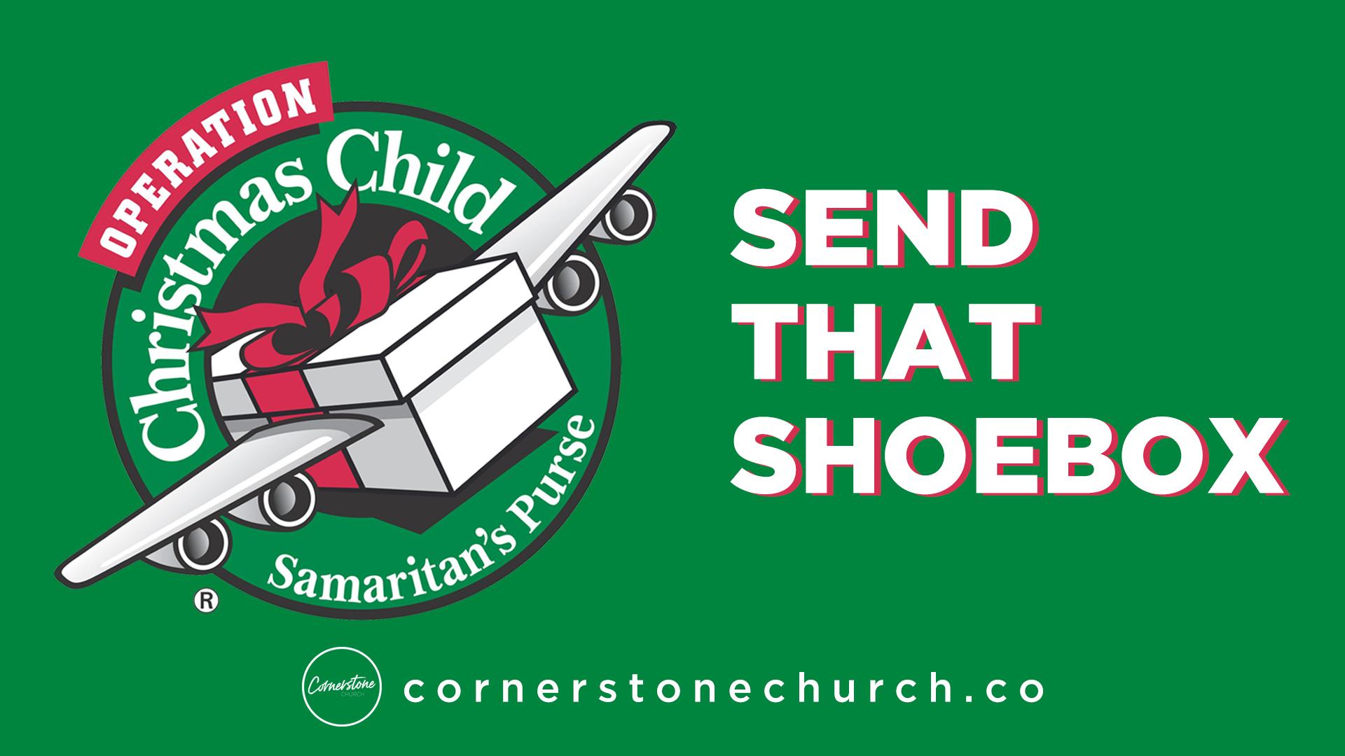 Operation Christmas Child Logo.Operation Christmas Child