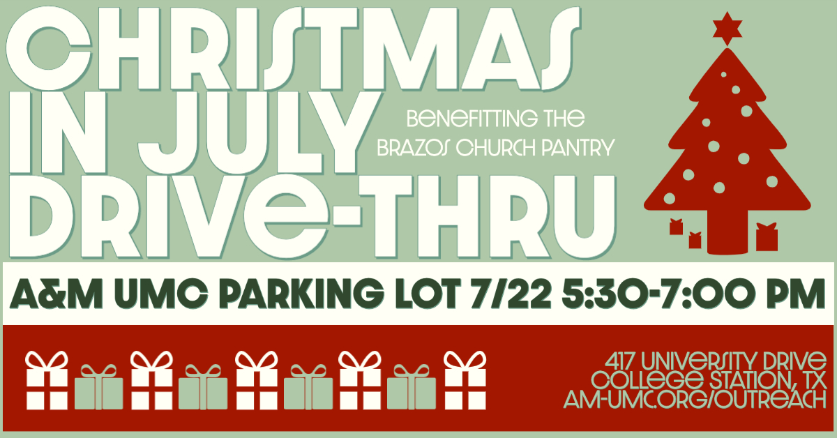 Christmas In July Coldspring Tx July 28th 2020 Christmas in July Drive Thru Benefitting the Brazos Church Pantry