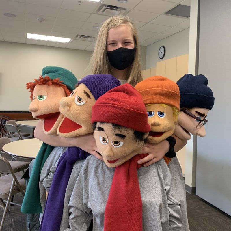 Join the Praise Puppets!