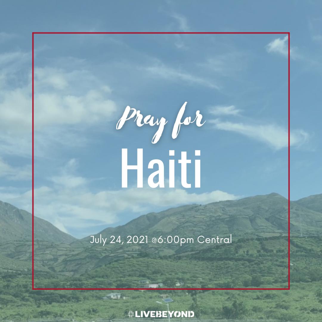 Pray for Haiti!