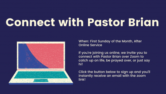 First Sundays with Pastor Brian