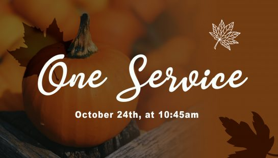 One Service October 24th