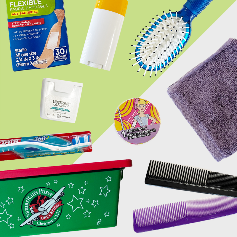 Personal Care or Hygiene Items