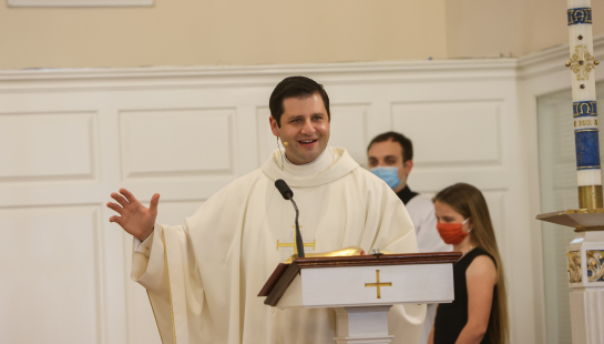 Watch the latest homily