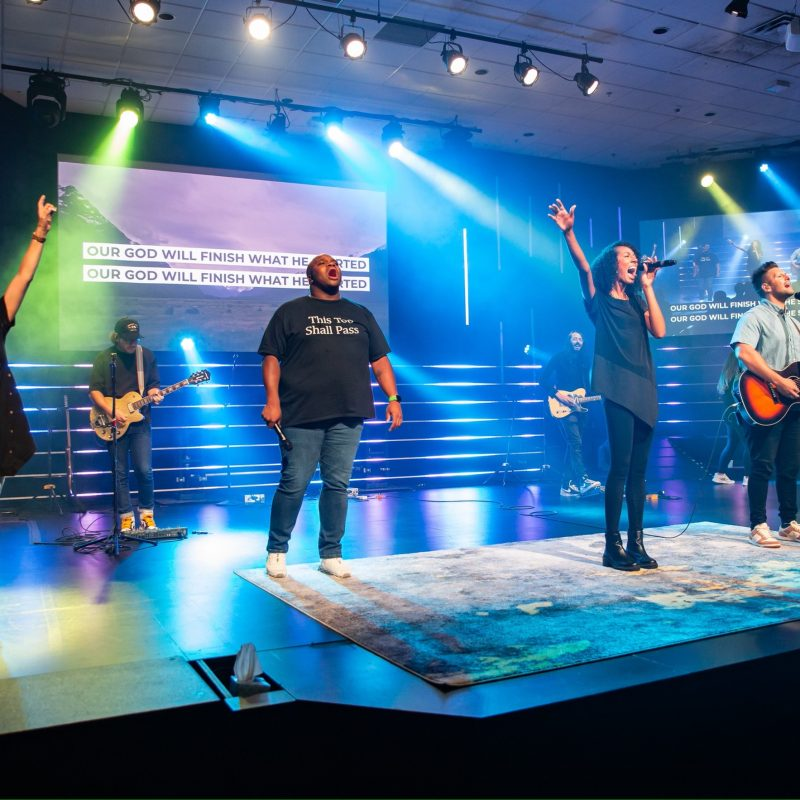 A chance to worship God through music and message