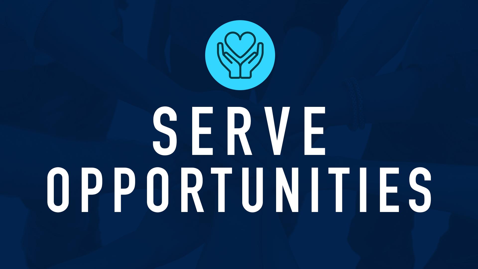 Serve Opportunities