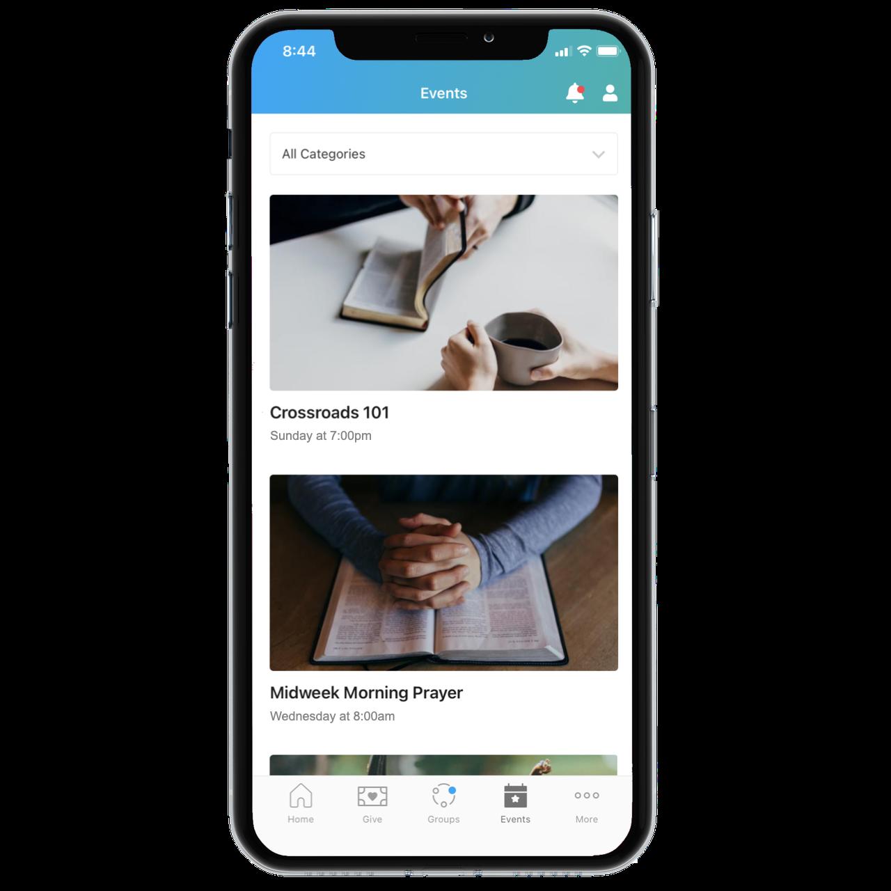 Get the Church Center App