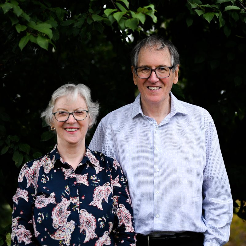 Margo & Greg Wagg - Founding Pastors