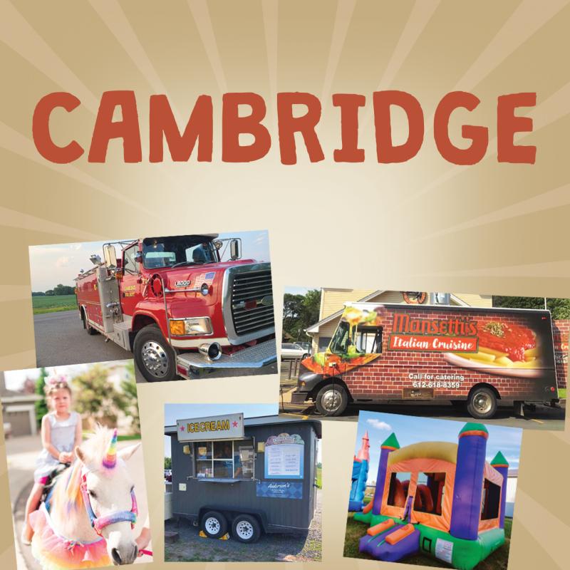 Cambridge Campus<br>Services at 8:45 & 10:15