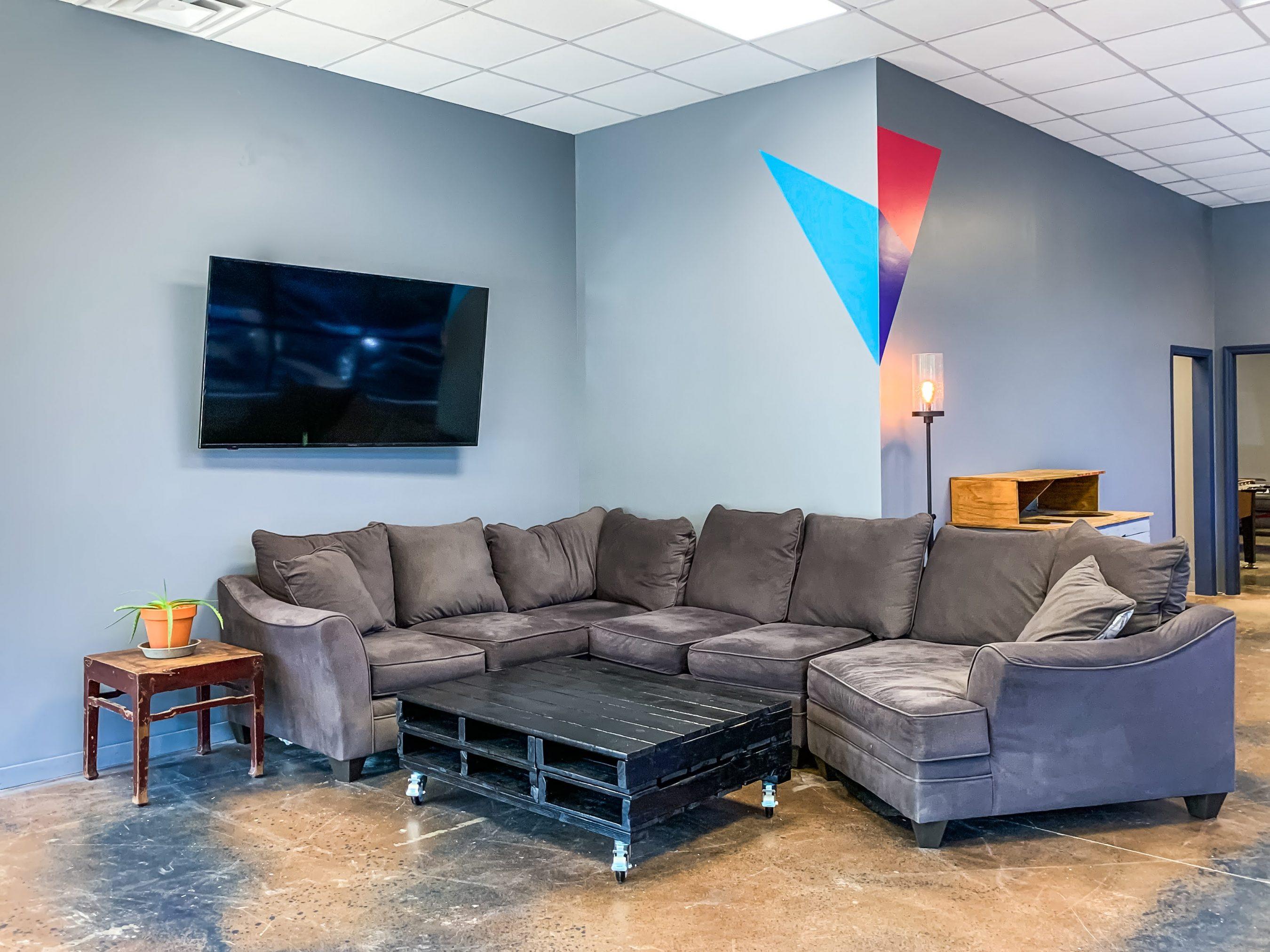 YC Lounge area