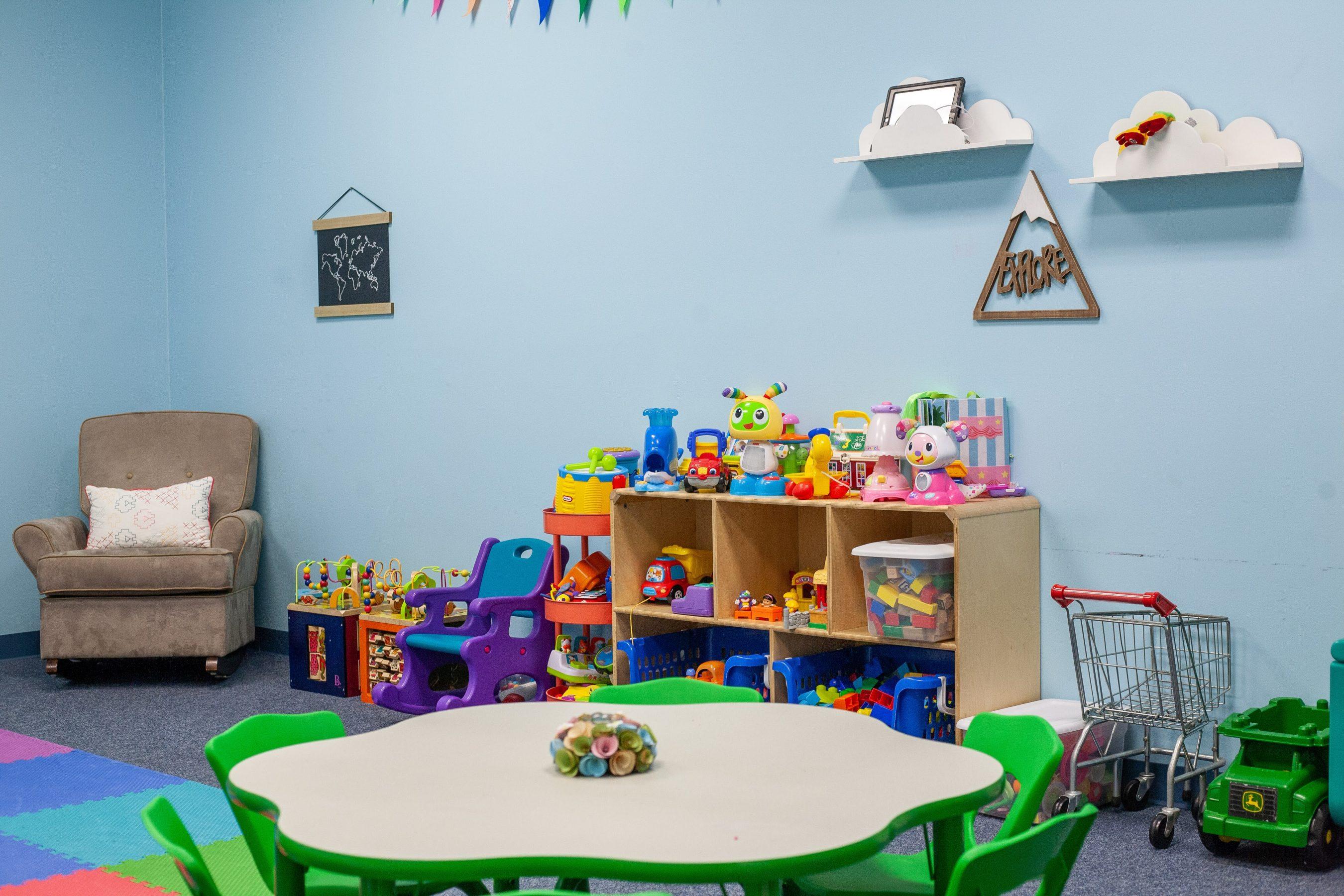 VC Toddler playroom