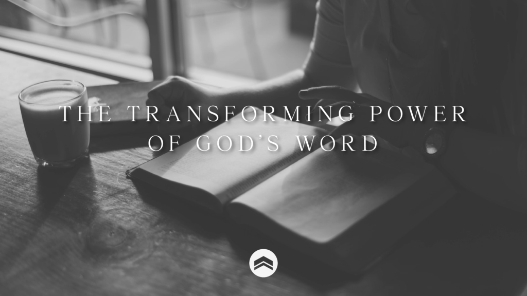 transforming power of God's Word Refuge Church Raleigh