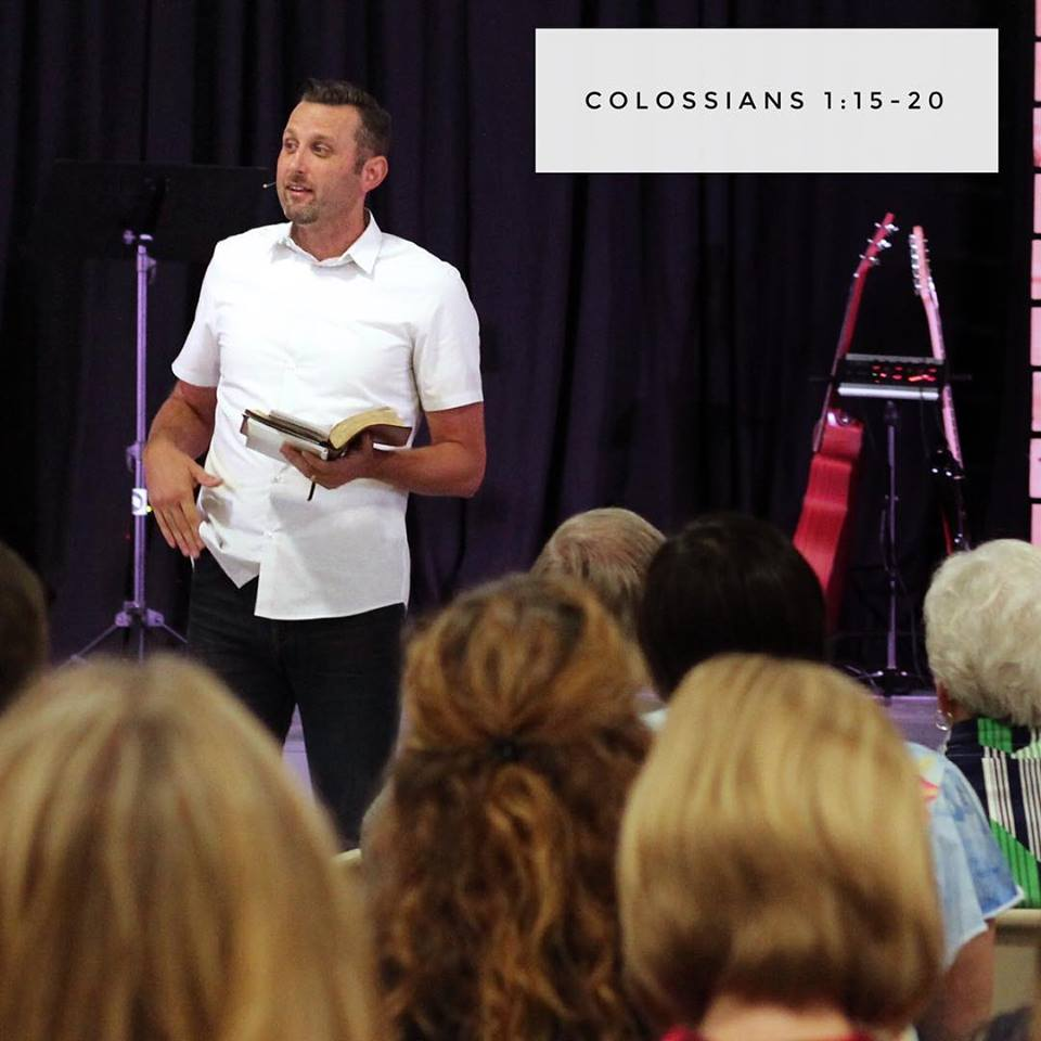 Jonathan Brooks preaching at Refuge Church Raleigh